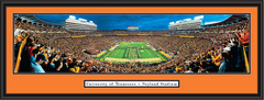 Tennessee Vols Power T Formation Framed Picture