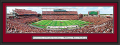 Williams-Brice Stadium Scoreboard Framed South Carolina Picture