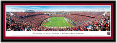 Williams-Brice Stadium End Zone South Carolina Framed Picture matted
