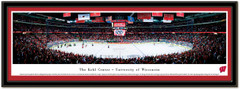 Wisconsin Hockey The Kohl Center Framed Picture matted