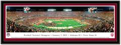 Alabama vs Notre Dame BCS National Championship Framed Picture matted