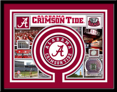 Alabama Crimson Tide Memories Collage Framed Picture