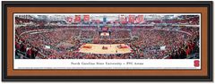 North Carolina State PNC Arena Basketball Framed Poster