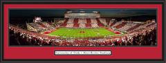 Utah Utes Stripe the Stadium Panoramic Poster