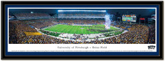 University of Pittsburgh Panthers ACC Panoramic Picture matted