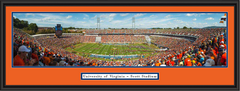 Virginia Cavaliers Scott Stadium Panoramic Framed Picture