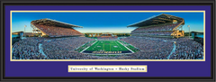 Washington Husky Stadium Season Opener Framed Picture
