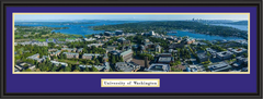 Washington Husky Stadium Aerial Panoramic Framed Picture