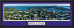 Washington Husky Stadium Aerial Panoramic Framed Picture