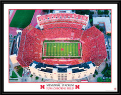 Nebraska Home Opener 2013 Tom Osborne Field Framed Picture