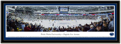 Penn State Pegula Ice Arena Panoramic Framed Picture matted