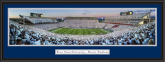 Penn State 2013 White Out vs Michigan Framed Picture