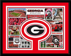 Georgia Bulldogs Memories Collage Framed Picture