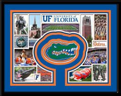 Florida Gators Memories Collage Framed Picture