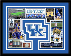 Kentucky Wildcat Memories Collage Framed Picture