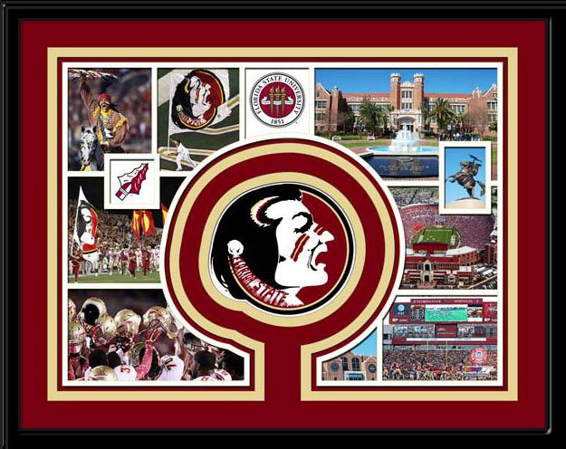 Florida State Seminoles Memories Collage Framed Picture