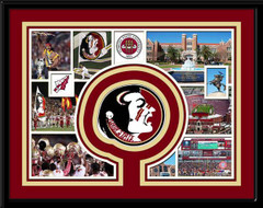 Florida State Seminoles Memories Collage Framed Picture