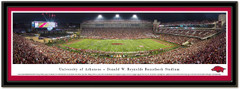 Arkansas Donald W. Reynolds Razorback Stadium Framed Picture matted