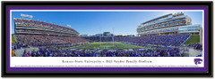 Kansas State Wildcat Stadium Framed Poster matted