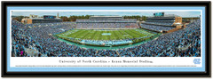 North Carolina Kenan Memorial Stadium Framed Picture matted