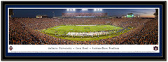 Auburn 2013 Iron Bowl Framed Panoramic Picture matted