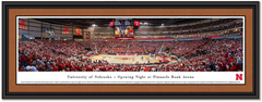 Nebraska Basketball Pinnacle Bank Arena Framed Print