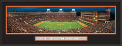 Oklahoma State Victory at Boone Pickens Stadium Framed Picture