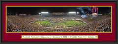 Florida State 2014 BCS Championship Celebration Framed Picture