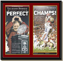 FSU Perfect and Champs 2014 BCS Newspaper Headlines