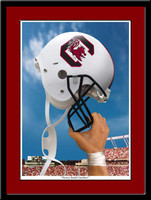 South Carolina Victory Helmet Gamecocks Football Print