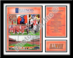 Illinois Illini Memories and Milestones Picture