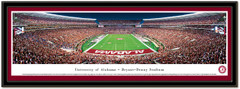 Alabama Bryant Denny Stadium Framed End Zone Poster matted