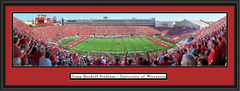 Wisconsin Camp Randall Stadium Panoramic Framed Picture