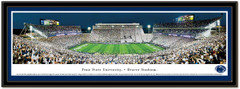 Penn State Beaver Stadium Panoramic Framed Picture matted