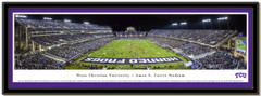 Texas Christian University Amon G. Carter Stadium Framed Picture matted