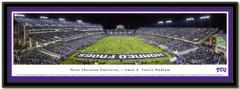Texas Christian University Amon G. Carter Stadium Framed Picture matted
