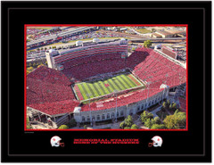 Nebraska Memorial Stadium Home of the Huskers 2010 Aerial Picture