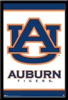 Auburn Tigers Logo Poster