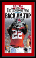 Alabama 2009 National Champions Newspaper Back on Top