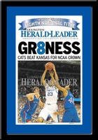 Kentucky Wildcats 2012 Championship Gr8ness Newspaper Keepsake