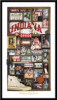 Indiana Basketball Through the Years Framed Memorabilia Picture