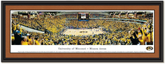 Missouri Tigers Mizzou Arena Basketball Framed Poster