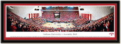Indiana Basketball Assembly Hall Panoramic Picture matted
