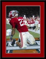 Alabama Heisman Winner Mark Ingram Limited Edition Print