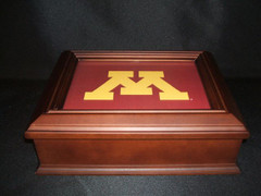 Minnesota Logo Wooden Gift Box