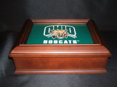 Ohio University Logo Wooden Gift Box