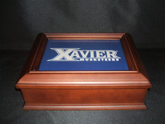 Xavier University Logo Wooden Gift Box