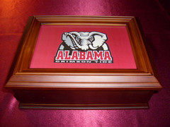 Alabama Logo Wooden Gift Box