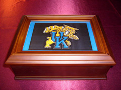 Kentucky Wildcats Logo Wooden Gift Box