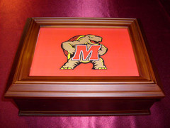 Maryland Logo Wooden Gift Box